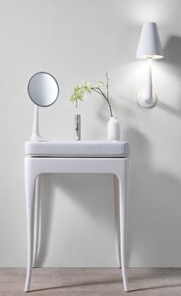 Unique Bathroom Sink With Makeup Mirror