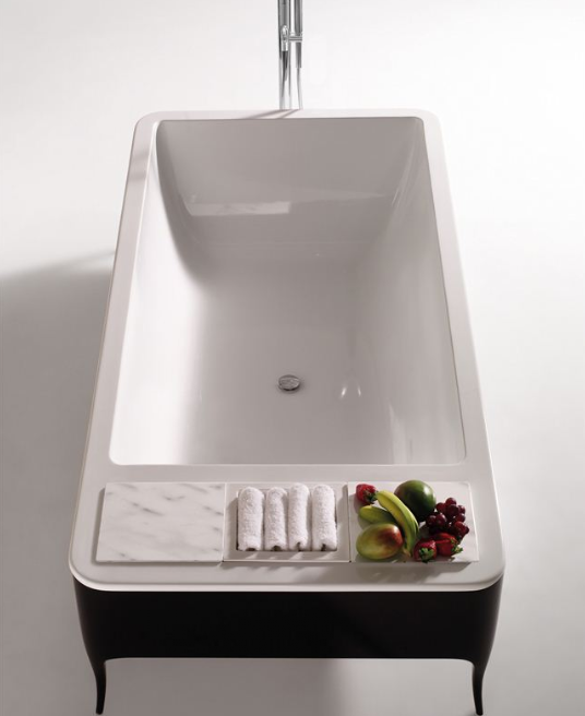 Decorator Ceramic Bathtub - TheBathOutlet.com