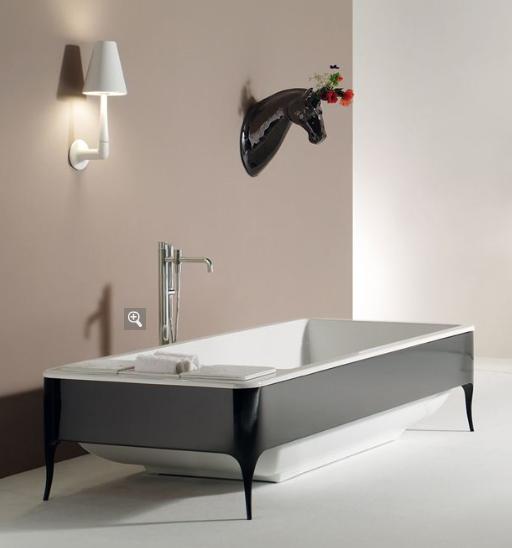 Italian Porcelain Bathtub   TheBathOutlet.com