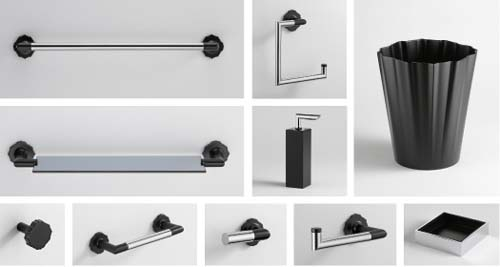 black bathroom accessories. Unique Black But  For Black Bathroom Accessories